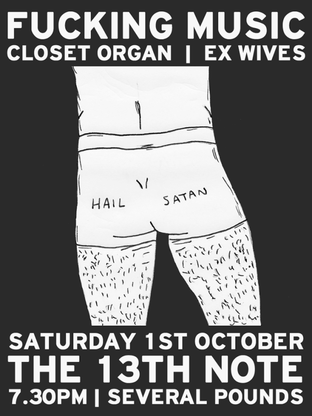 Closet Organ and Ex Wives gig